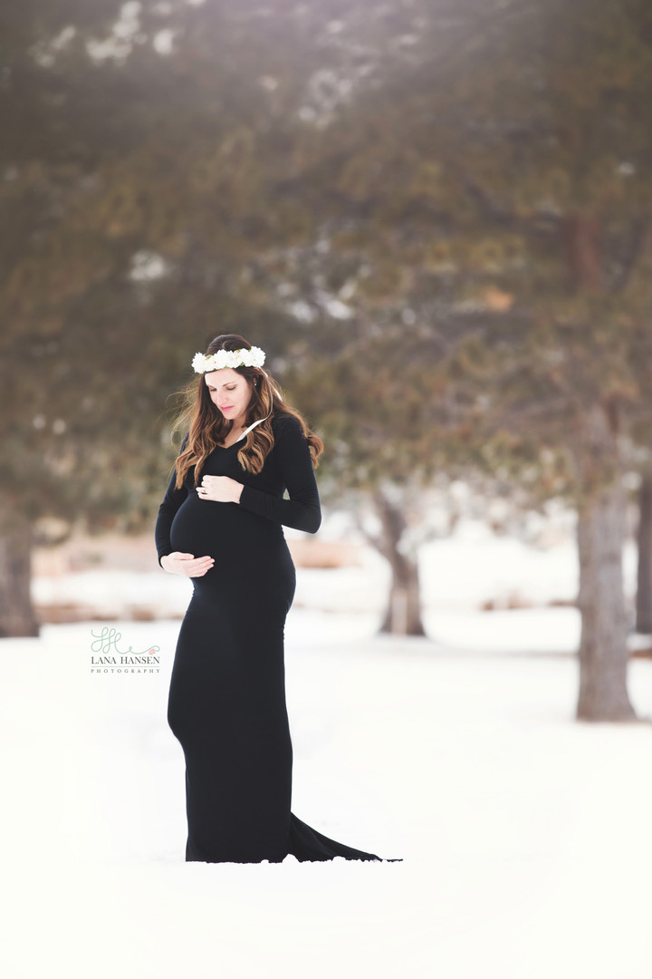 Drying Maternity {Maternity Photography}