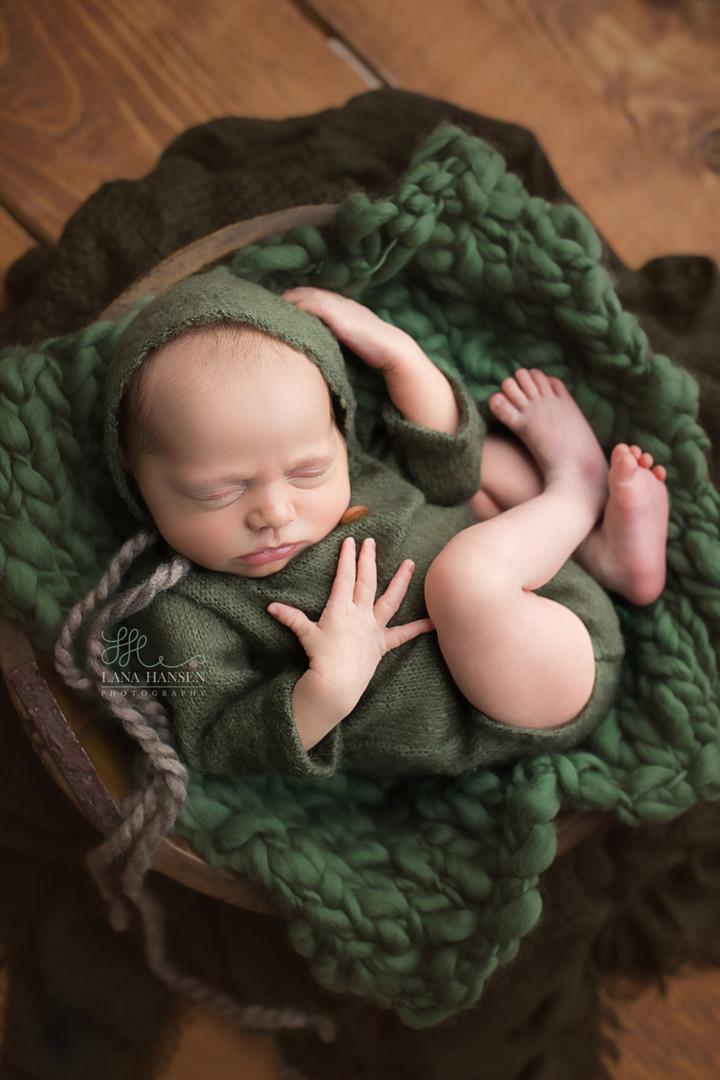 Larsen Newborn {Newborn Photography}