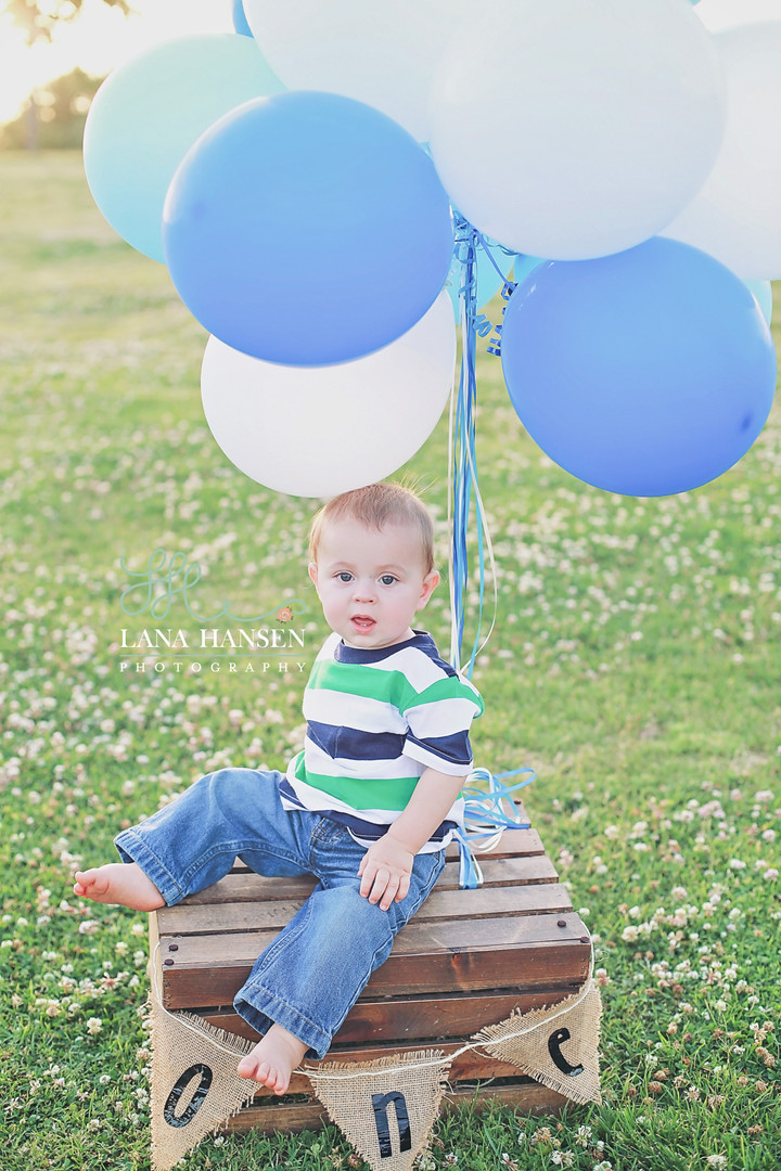 Liam's 1! {Utah Child Photographer}