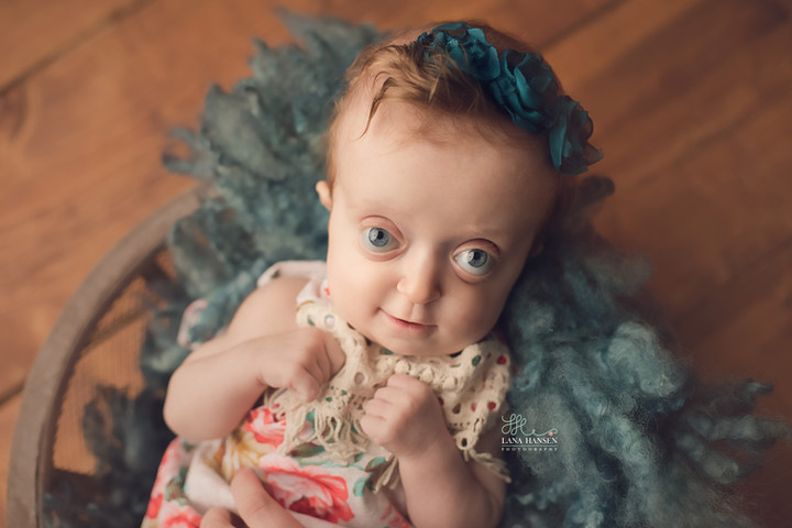 AudreyAnna's 6 month session {Baby Photography}