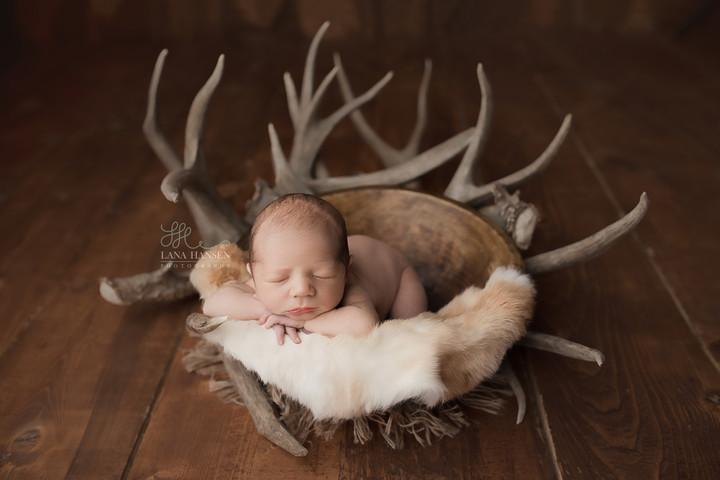 Baby Bown Newborn Session {Newborn Photography}
