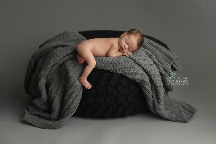 Baby Maverick Newborns {Newborn Photography}