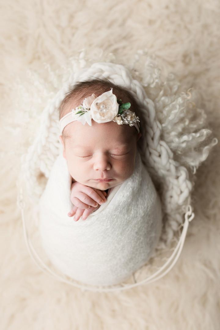 Baby E's Newborn Session {Newborn Photography}