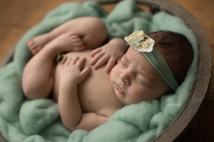 Frandsen Newborn {Newborn Photography)