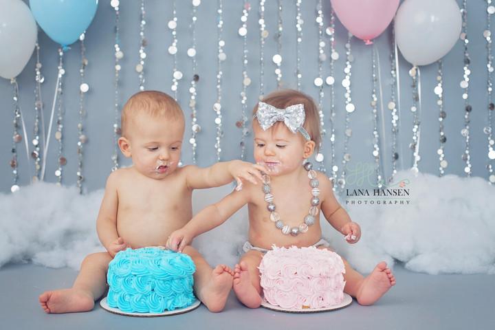 Heath Twins Birthday {Children Photographer}