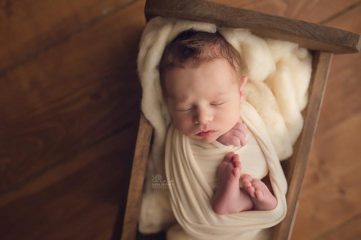 Drying Newborn {Newborn Photography}