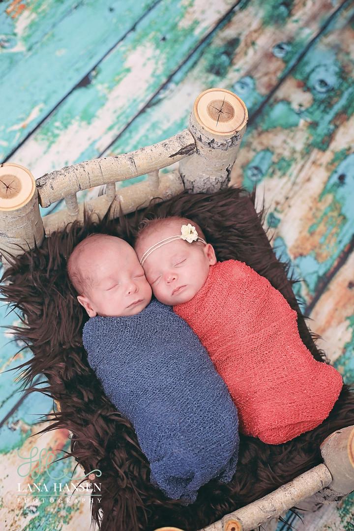 Meacham Twins {Utah Newborn Photographer}