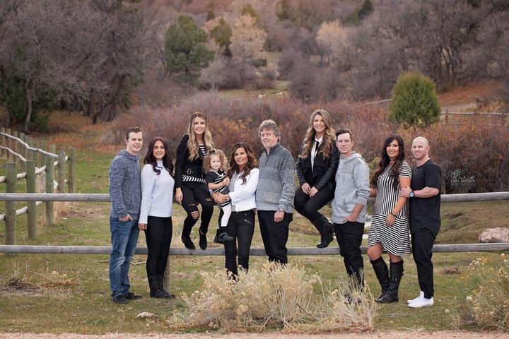 Barry & Cindy Sorenson Family 2016 {Family Photography}