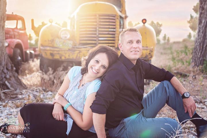 Atkinson Engagements {Utah Couples Photographer}