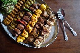 Persian meat platter