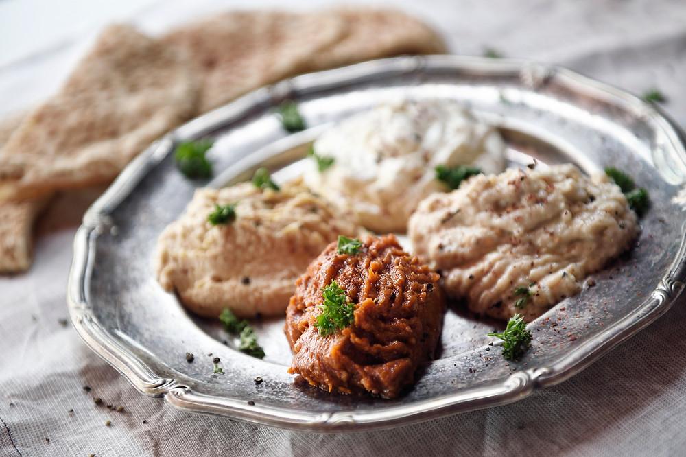 mediterranean dips singapore, pita and dips singapore, halal food singapore