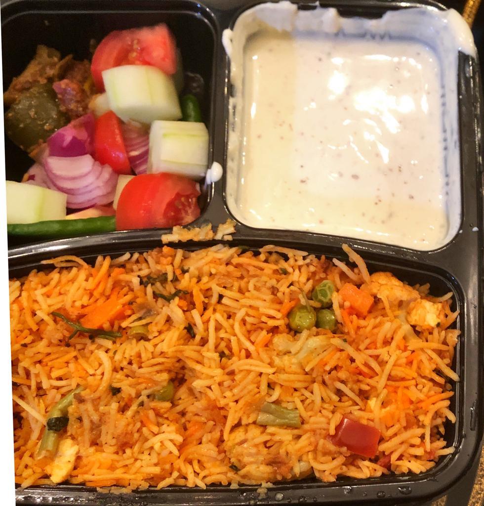 vegetarian bento box delivery singapore