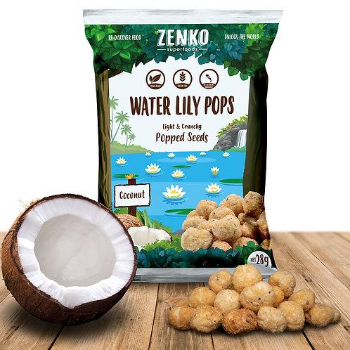 Zenko superfood water lily pops - coconut (28gm)