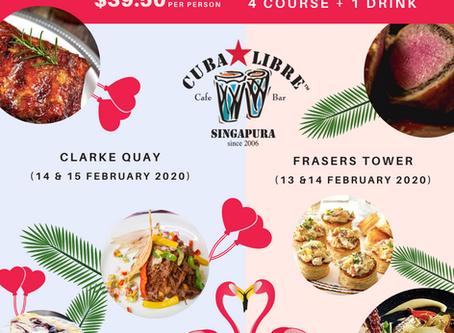 Valentine Specials with Latin American Contemporary Cuisine
