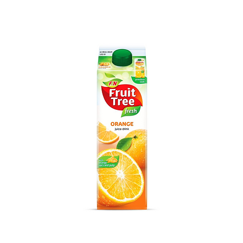 Fresh Tree fresh orange with sacs & pulps (1L)