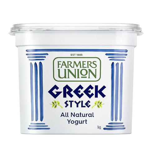 Farmers Union Greek style yoghurt (1kg)