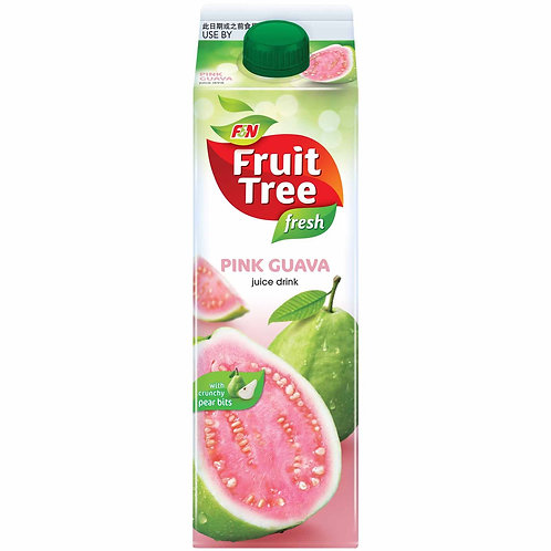 Fresh Tree fresh pink guava with pear bits (1L)