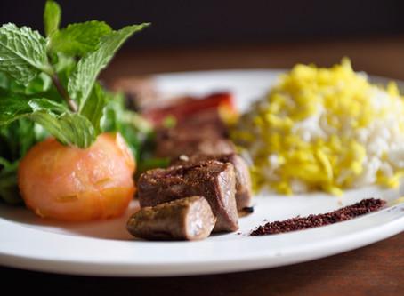 Persian style - Gluten Free Menu
