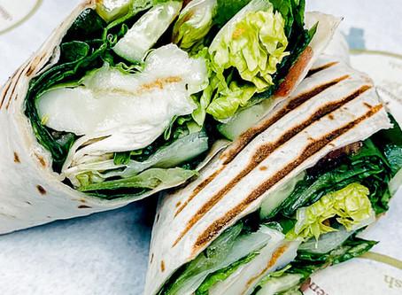 Wrap of the Month (Feb) - Vegetarian Halloumi Cheese Wrap