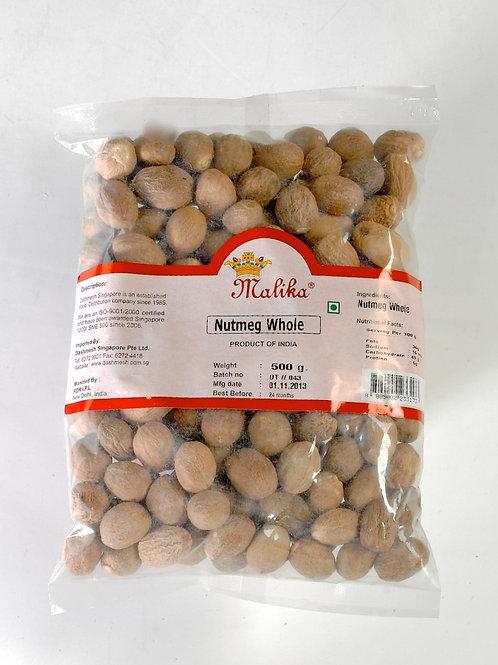 Malika nutmeg whole (500gm)