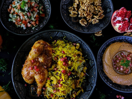 Middle Eastern Set Lunch with Islandwide Delivery