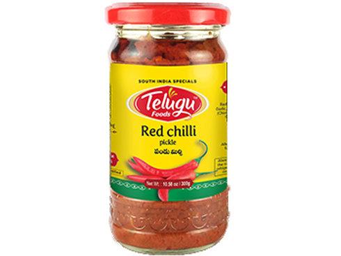 Telugu red chilli pickle (300gm)