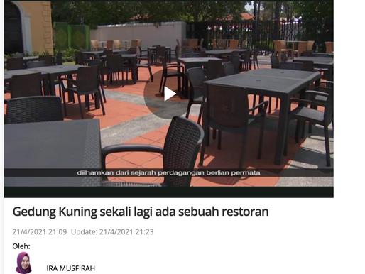 Gedung Kuning sekali lagi ada sebuah restoran