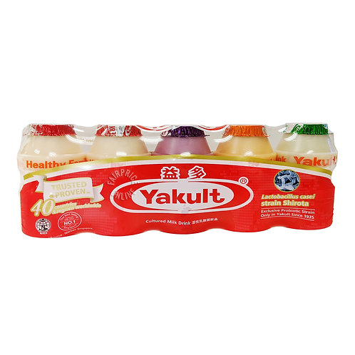 Yakult assorted culture milk (5 x 100ml)