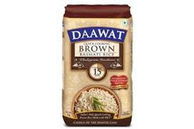 Daawat brown basmati rice (1kg)