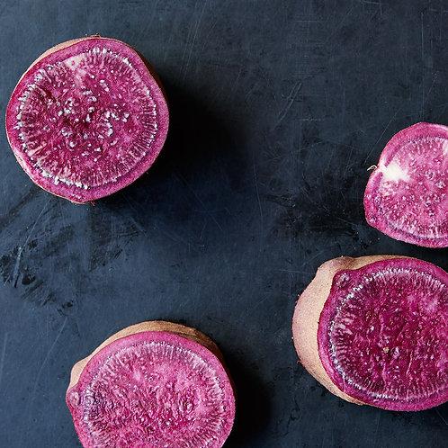 Sweet potatoes purple Japanese (500gm)