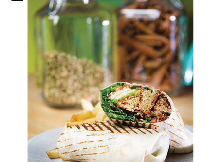 Vegetarian Falafel Wrap Recipe