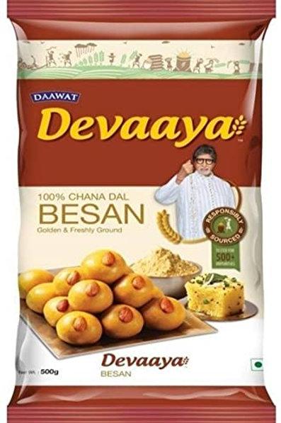 Devaaya besan - yellow chana flour (500gm)