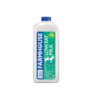 Farmhouse fresh low-fat milk (2L)