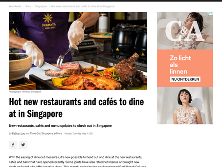 Hot new restaurants and cafés to dine at in Singapore