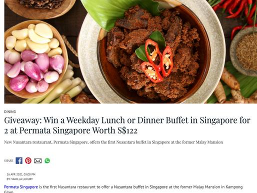 New Nusantara restaurant, Permata Singapore, offers the first Nusantara buffet in Singapore