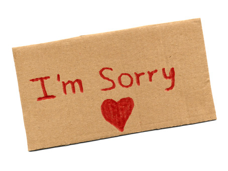 Teaching our Children to Say Sorry and Mean It