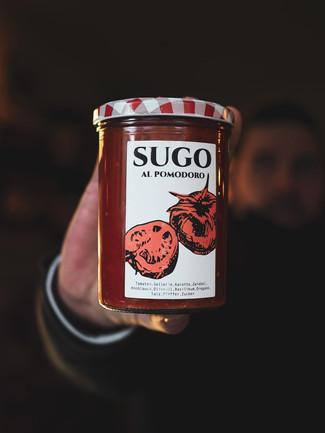 Hausgemachtes Tomatensugo |  4.90 Euro