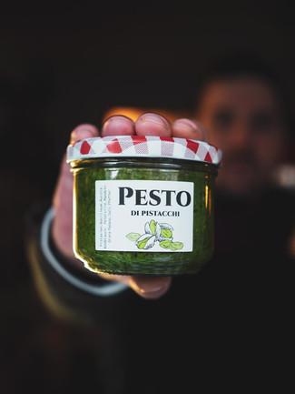 Hausgemachtes Pistazien-Kräuter-Pesto | 5.90 Euro