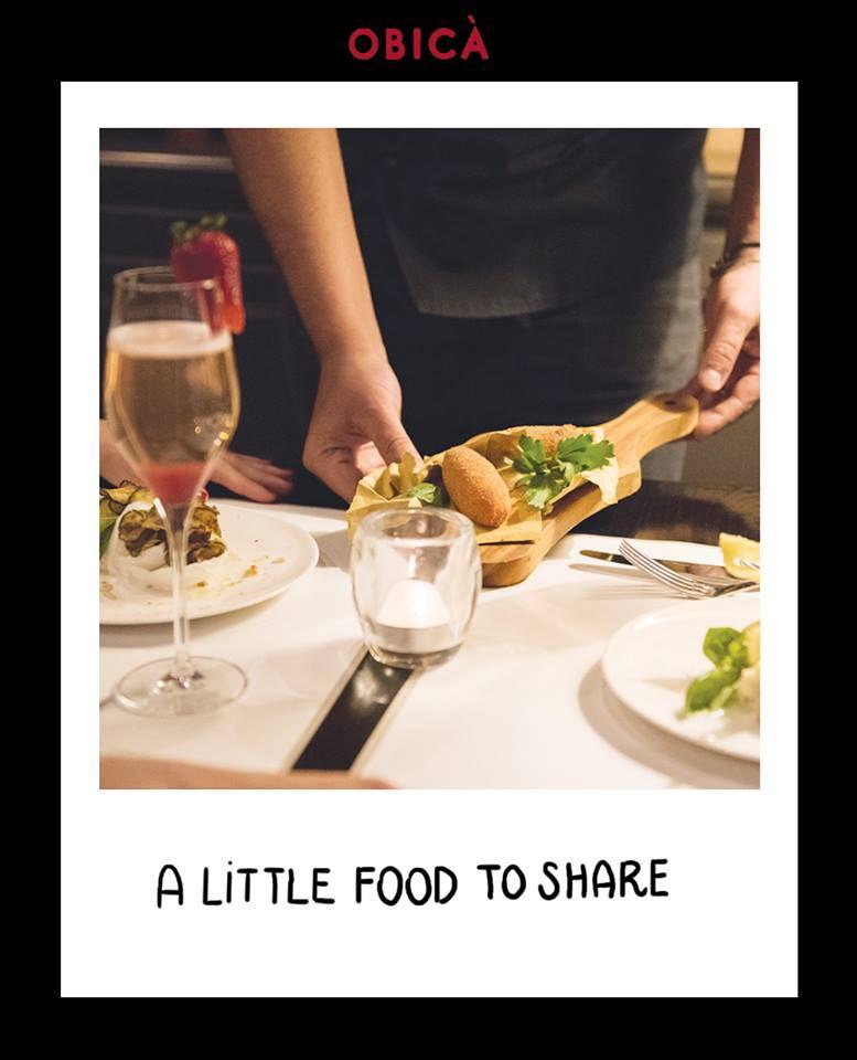 Un po di 'food to share'