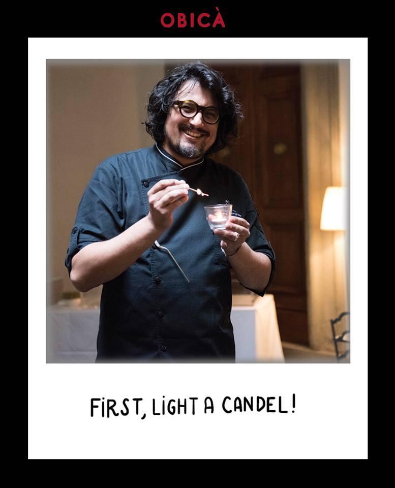 Primo, accendere una candela!