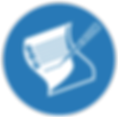 Blue writing icon.png