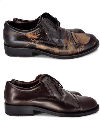 Полное восстановление туфель