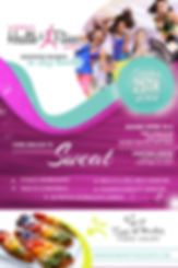 Houston Women's Health & Fitness Expo flyer
