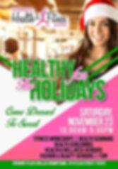 Dallas Women's Health & Fitness Expo flyer