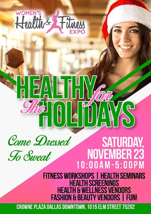 Dallas Women's Health & Fitness Expo flyer