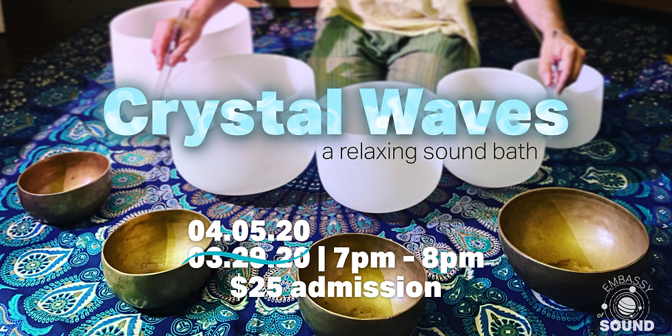 Crystal Waves: A Relaxing Sound Bath