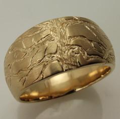engraved tree