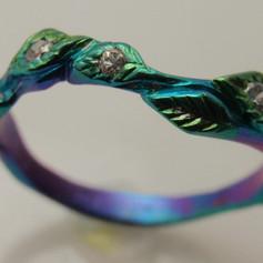 titanium leaf band