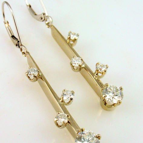 diamonds on a bar