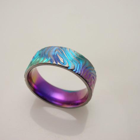 titanium topo ring